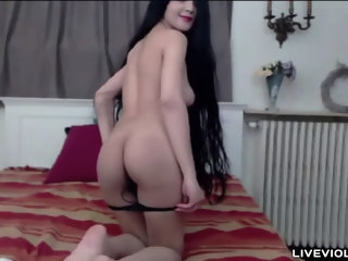 Delectable long haired nymphomaniac Bianca   Pornhub com