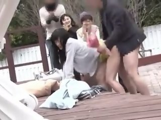 Japanese public sex part 1