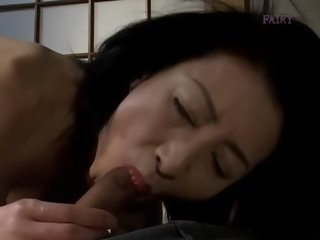 Exotic Japanese chick in Horny JAV uncensored Blowjob clip