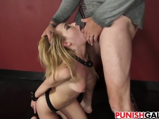 Full body destruction for Alina West
