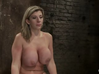MILF with 'EE' tits has so many orgasms ripped out of herCries from the brutal emotion of it all