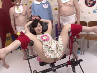 Crazy Japanese slut Maki Hoshikawa in Best bdsm, masturbation JAV movie